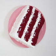 <strong>Peter Anton</strong> Red Velvet Cake Slice