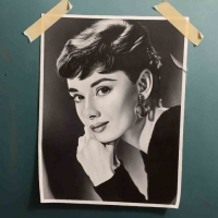 <strong> Otto Duecker</strong>  Audrey Hepburn