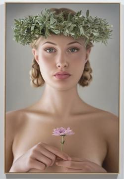 <strong> Anna Halldin-Maule</strong> Liten Blomma