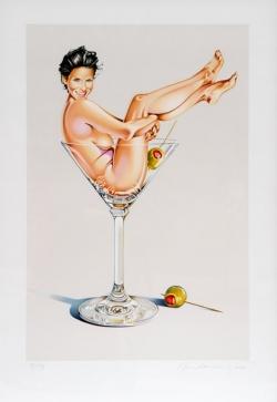 <strong>Mel Ramos</strong> Martini Miss